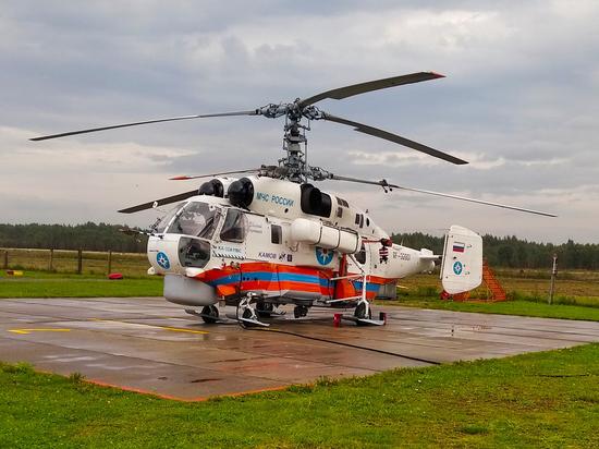 Вертолет доставил в Тверь упавшего с высоты мужчину