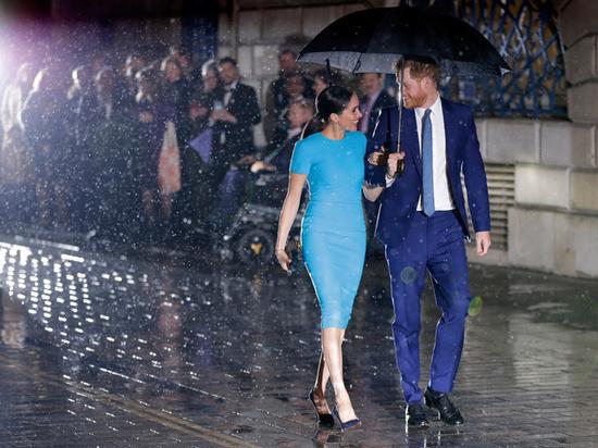 СМИ выяснили стоимость публичного выступления принца Гарри и Меган Маркл