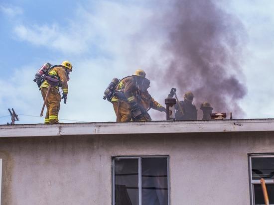 На пожаре в Красноярске погибли мать и дочь