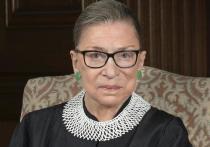 В США на 88-м году жизни скончалась самая старшая из членов нынешнего состава судей Верховного суда Рут Бейдер Гинзбург, известная не только как активный борец за права женщин, но и как «либеральная икона»