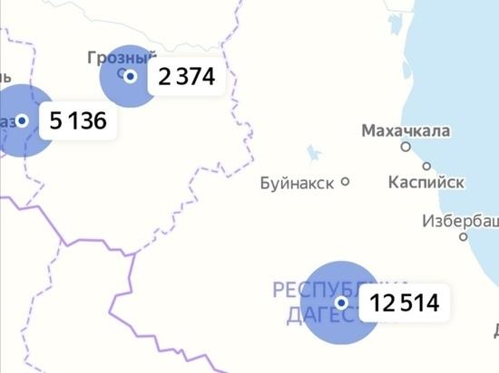 Более 400 новых случаев COVID-19 выявили на Северном Кавказе за сутки