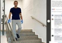 Российский оппозиционер Алексей Навальный опубликовал второе сообщение за время своего лечения в берлинской клинике Charite