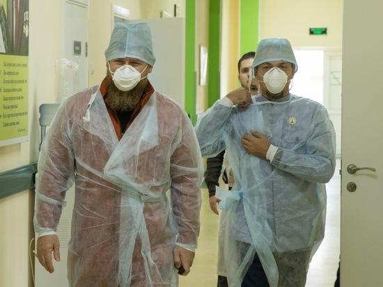 Чечня сохраняет динамику по минимуму заболевших COVID-19 в России