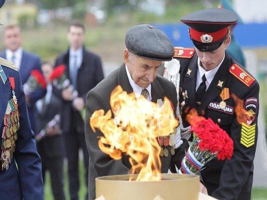 В Туле открыт первый в России мемориал энергетикам героям Великой Отечественной войны