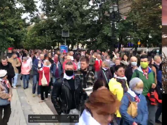 В Москве прошла акция солидарности День перемен
