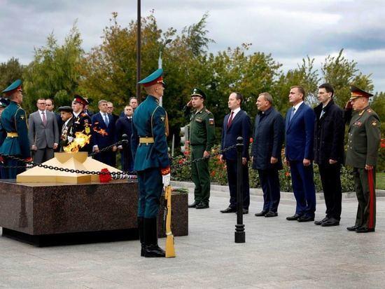 В Туле открыт первый в России мемориал энергетикам - героям Великой Отечественной войны