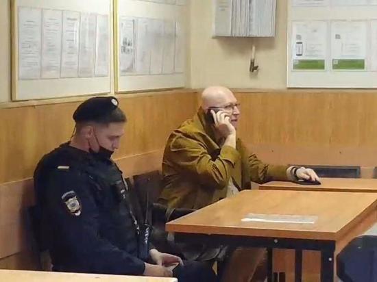 Политолога Валерия Соловья задержали на акции на Тверском бульваре в Москве
