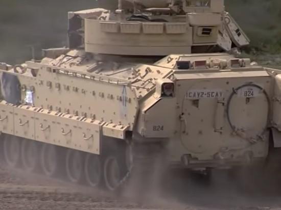 США перебросят свои БМП на северо-восток Сирии