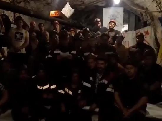 Украинские шахтеры уже 17 дней бастуют под землей