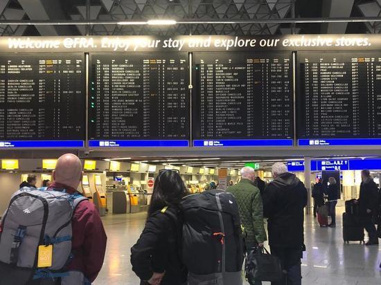 Германия: Около 45 000 судебных разбирательств от пассажиров крупнейших авиакомпаний