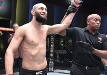 В Лас-Вегасе (США) прошел очередной турнир UFC. В рамках Fight Night 178 бились бывшие чемпионы промоушена в полусреднем весе, легендарный «Ковбой» Дональд Серроне. Но звездой бойцовского шоу стал чеченец Хамзат Чимаев, выступающий за Швецию.