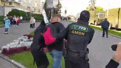 Белорусский ОМОН задерживает протестующих: центр Минска перекрыт