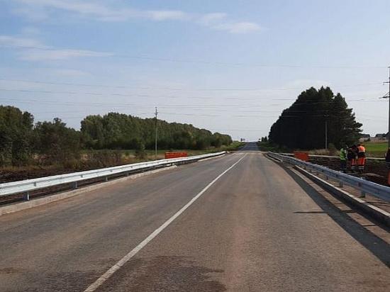 Мост через р. Ягуречка отремонтировали в Удмуртии