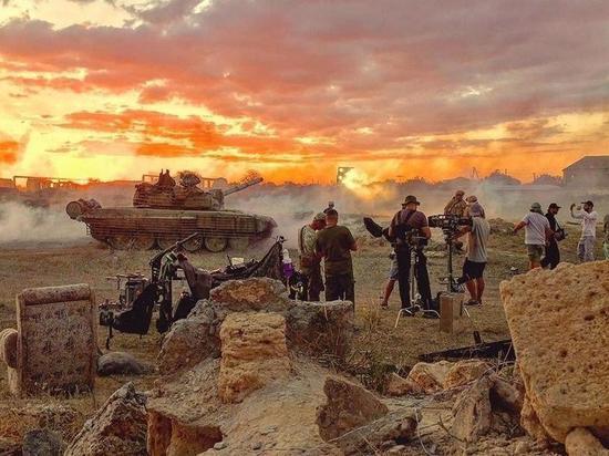 В Крыму продолжаются съемки фильма о взятии сирийской Пальмиры