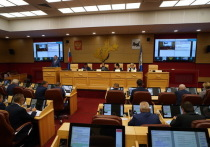 16 сентября депутаты Законодательного собрания Иркутской области собрались на 33-ю по счету в этом созыве сессию