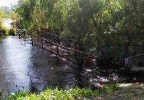 На прошлой неделе обильные осадки стали причиной резкого подъема уровня воды в реках