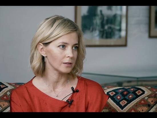 """Поклонская рассказала, за что будет """"вечно благодарна"""" Путину"""