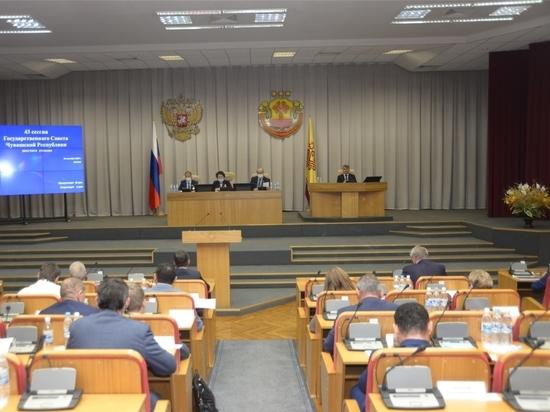 Олег Николаев принял участие в работе 43-й сессии Госcовета Чувашии