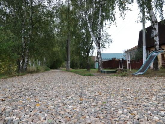 В Иванове вскладчину отремонтировали дорогу