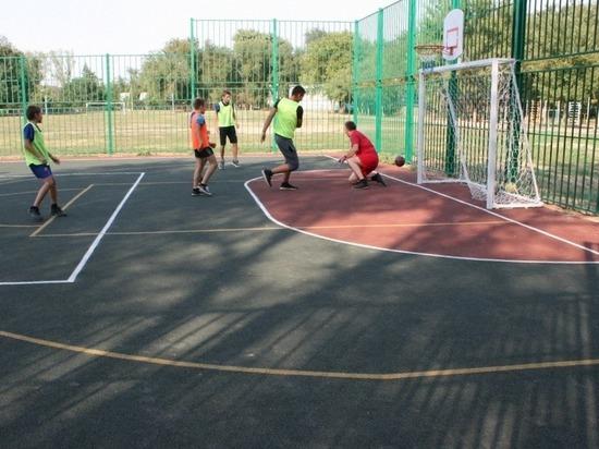 В селе на Ставрополье создана еще одна спортплощадка