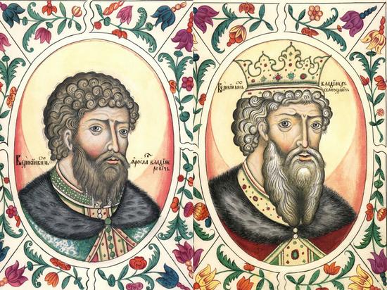 В Минздраве заявили, что князь Владимир и Ярослав Мудрый умерли от рака