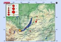 Как сообщает RT, жители Иркутской области шокированы землетрясением, которое произошло в регионе в районе озера Байкал в ночь с 21 на 22 сентября
