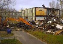 За сносом аварийных домов в Ноябрьске наблюдают камеры
