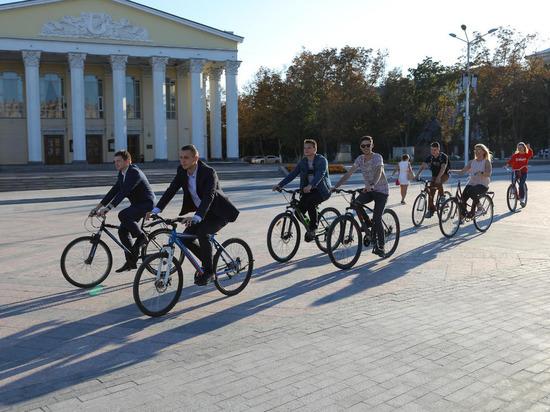 В Белгороде в пятый раз проходит акция «На работу на велосипеде»