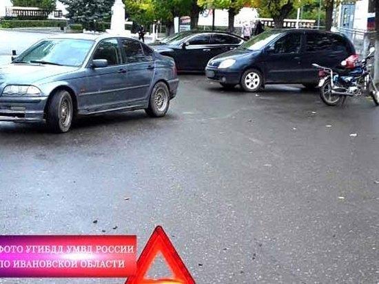 В Ивановской области внедорожник сбил 17-летнего мопедиста