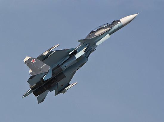 В Тверской области потерпел аварию военный самолет Су-30