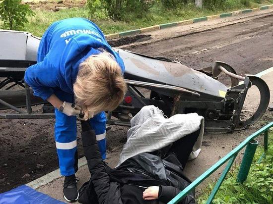 Стала известна причина инцидента в Щелкове, где прямо на подростков обрушилась стрела дорожной фрезы