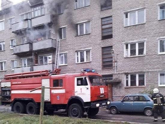 Пенсионерка погибла при пожаре в Ижевске