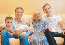 Новый российский рекорд зарегистрирован в столице: пожилая москвичка и ее праправнук оказались родственниками с самой большой разницей в возрасте – 103 года и 4 месяца