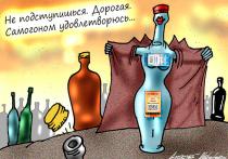 Не успев толком оценить последствия маркировки слабых алкогольных напитков новыми информационными стикерами, чиновники собираются распространить аналогичную систему на более горячительные напитки
