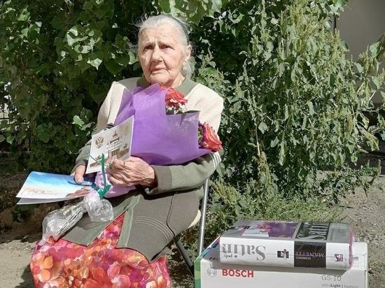 Жительница района Калмыкии отметила 90-летие