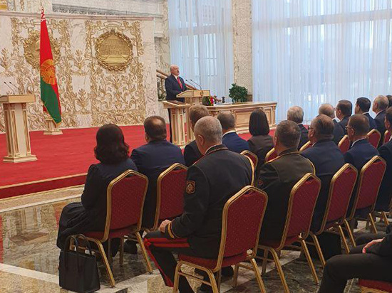 В Минске состоялась инаугурация