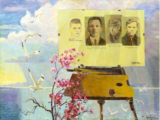 Около месяца в залах Галереи сибирского искусства экспонировалась особенная выставка, в которой Иркутский художественный музей представил работы художников военного поколения