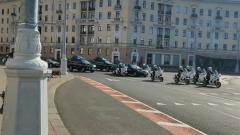 Кортеж Лукашенко проехал на инаугурацию по пустому Минску