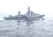 Пресс-служба Балтийского флота подтвердила сообщения СМИ Дании о том, что российский военный корабль столкнулся с контейнеровозом в водах Дании