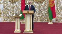 Зал на инаугурации Лукашенко застыл: жутковатое видео