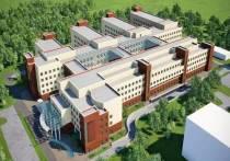 В Твери начали делать фундамент новой детской областной клинической больницы