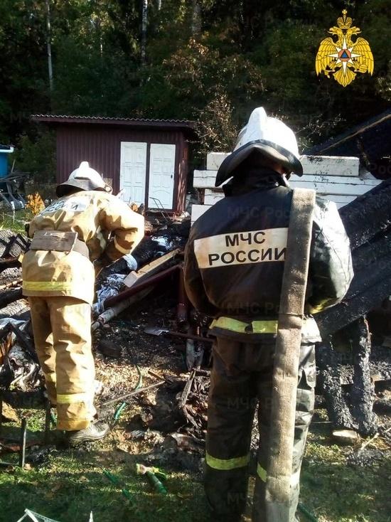 В Калуге 79-летняя женщина попала в больницу в результате пожара