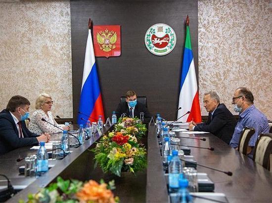 Правительство Хакассии утвердило два приоритетных проекта на территории республики