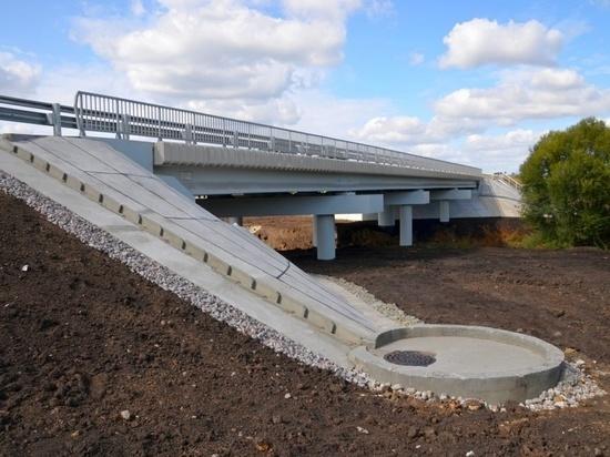 Мост через реку Лапоток в Рязанской области открыли после капремонта