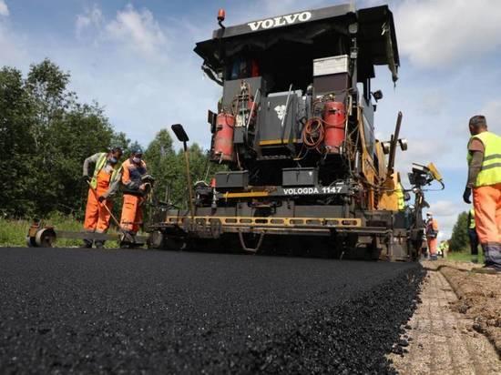 Дорожные работы, запланированные по нацпроекту на 2020 год, близятся к завершению на Вологодчине