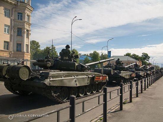 В Петрозаводске отменили военный парад, запланированный на конец сентября