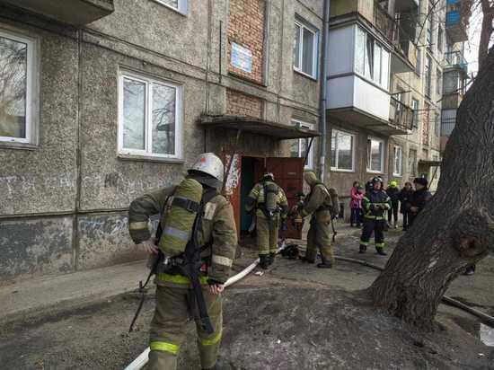 Пожар в квартире многоэтажки Абакана «эвакуировал» из дома 15 человек
