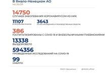 На Ямале еще 81 человек заболел коронавирусом