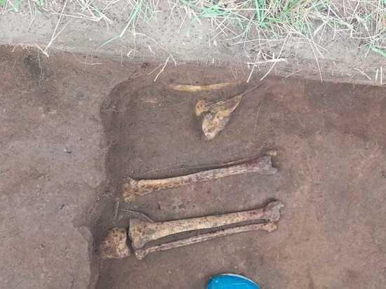В Хакасии на территории колонии обнаружили захоронение Уйгурского каганата