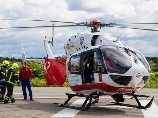 Рязанский вертолет санавиации совершил 35-й вылет